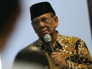 KH Hasyim Muzadi pidato