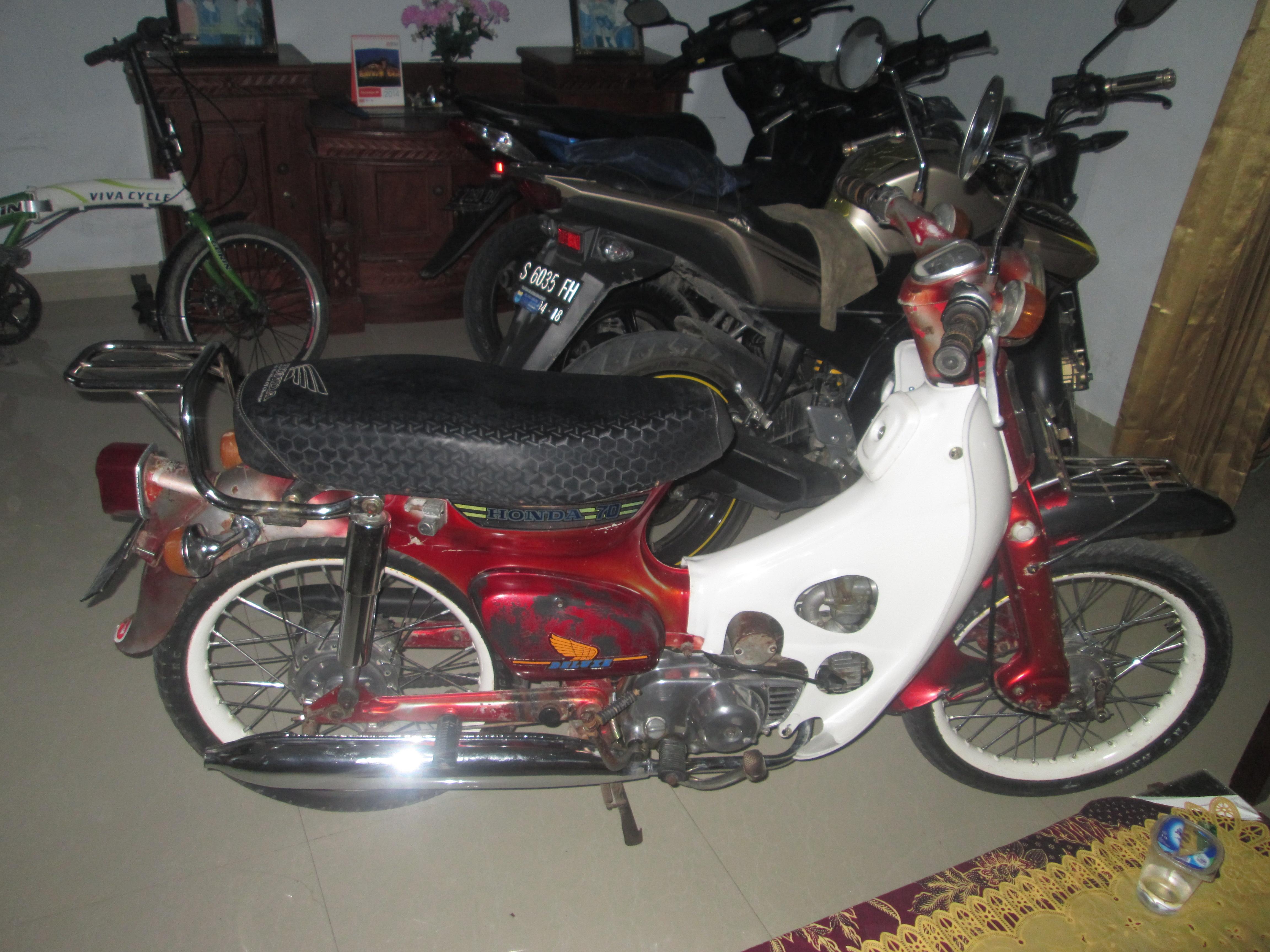 C70 Pakai Velg DID Keren Juga Nih Si Classic Bike D Ndeso94