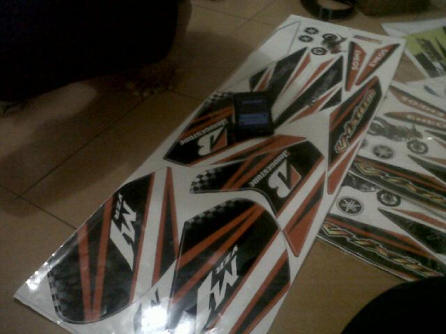 striping cutsom m1 nvl