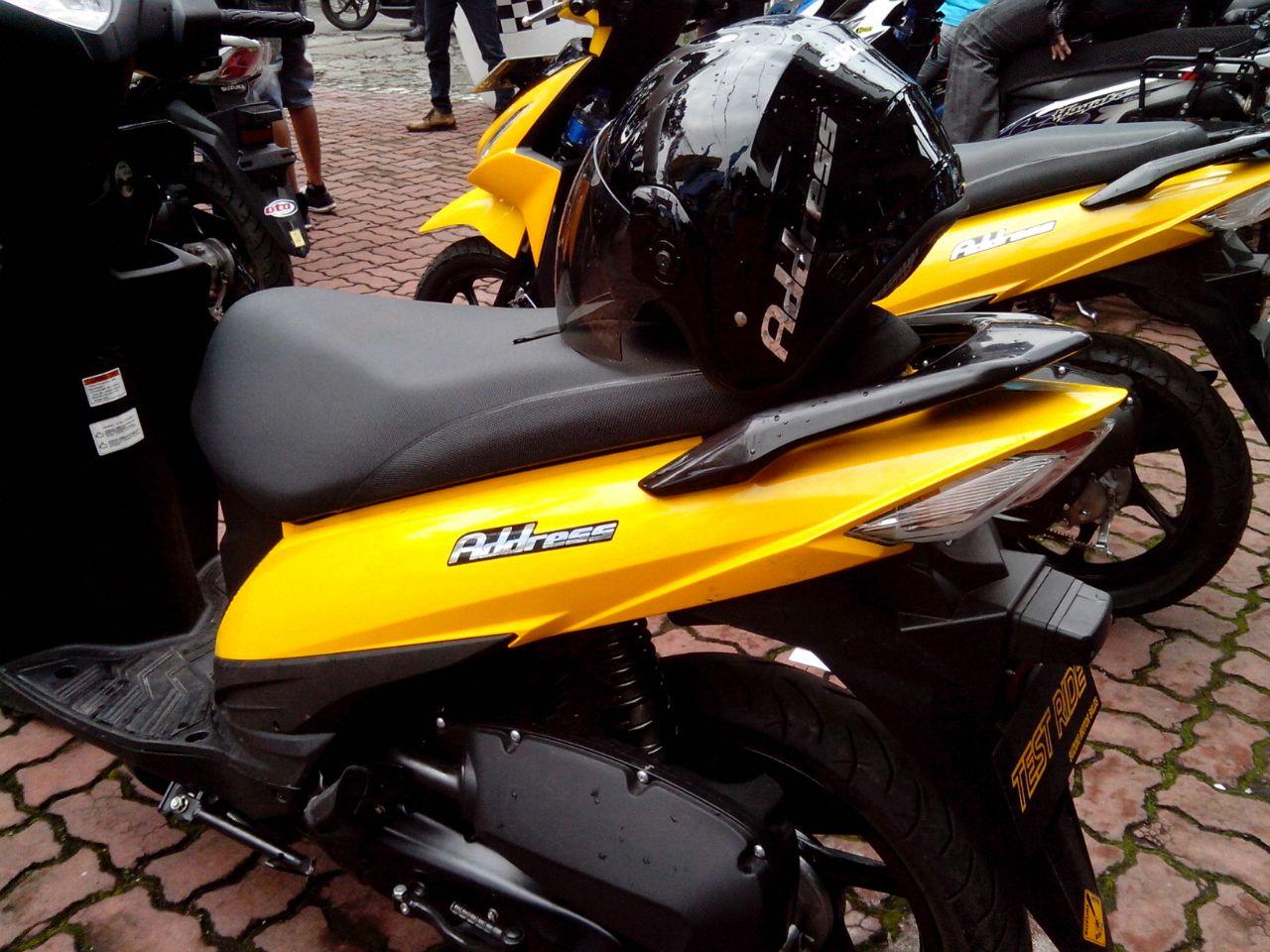 Modifikasi Motor Mio Warna Kuning