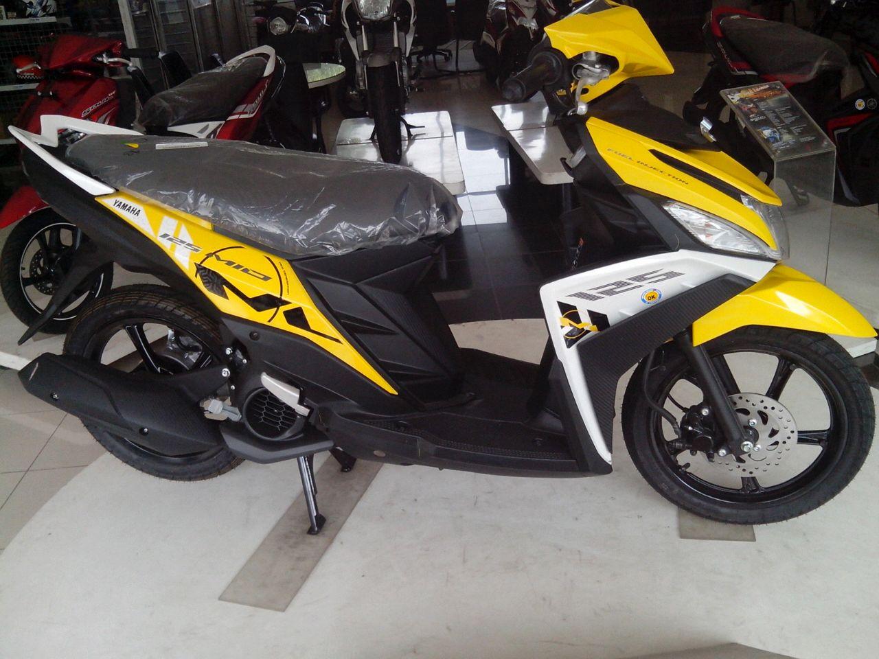 50 Modif Motor Mio Warna Kuning Gambar Mobil Dan Motor