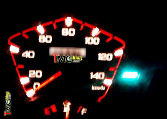 speedometer nyala