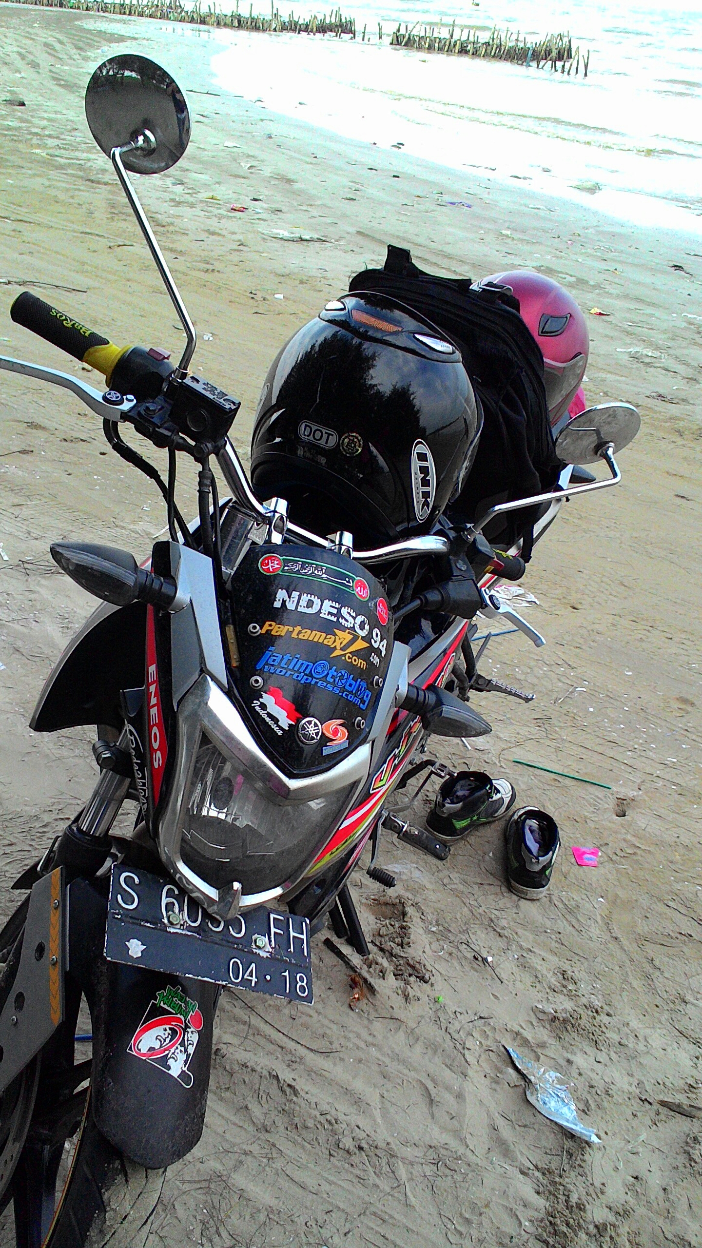 Pasang Stang Ninja Custom Dan Raiser Miring Di Nvl Ndeso94 Dot Com Image