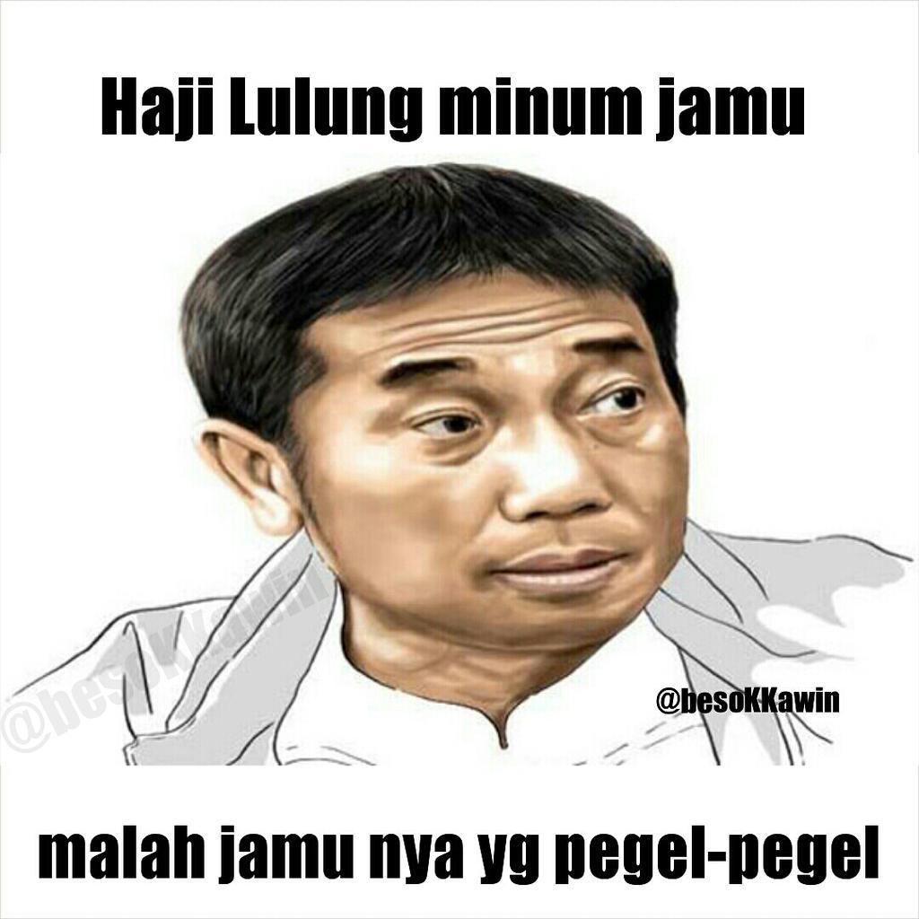 Meme SaveHajiLulung Dari Netizen Twitter Ndeso94 Dot Com