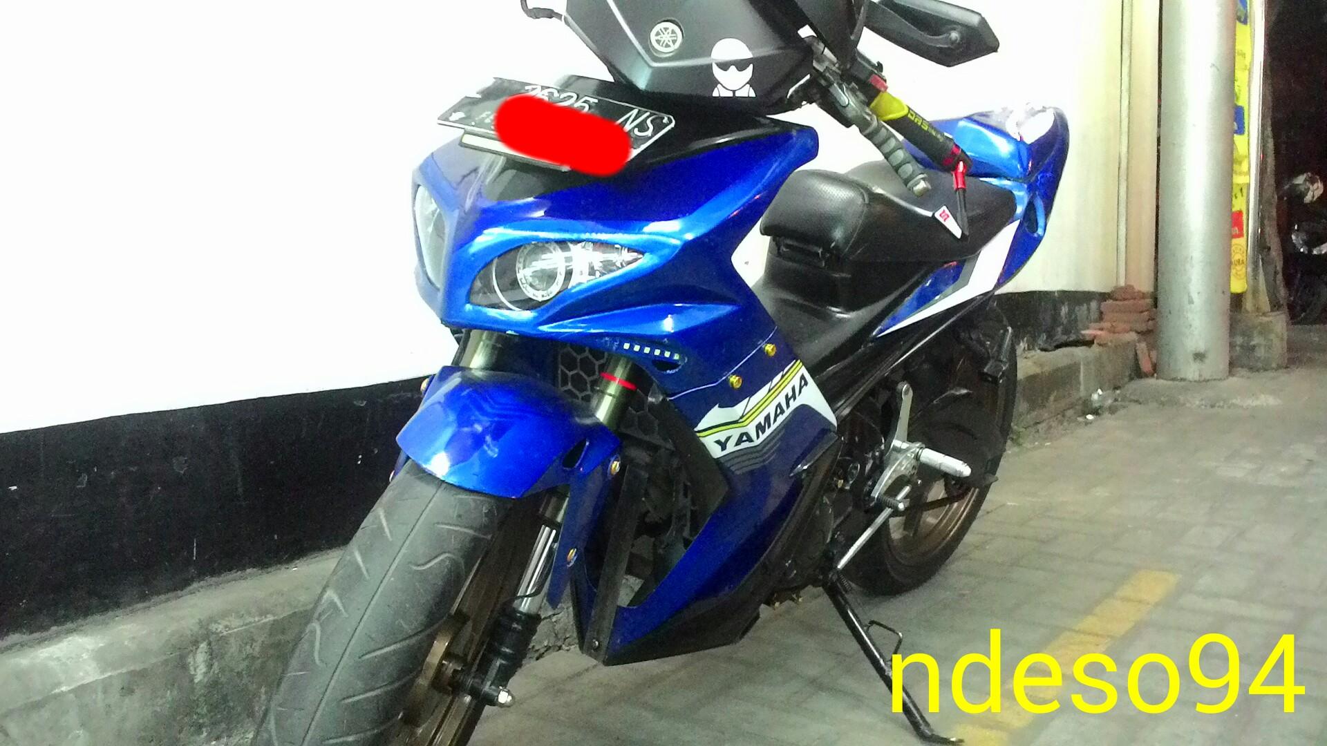 Modifikasi Ekstrim Jupiter MX Bebek Semi Sport Racing Ndeso94