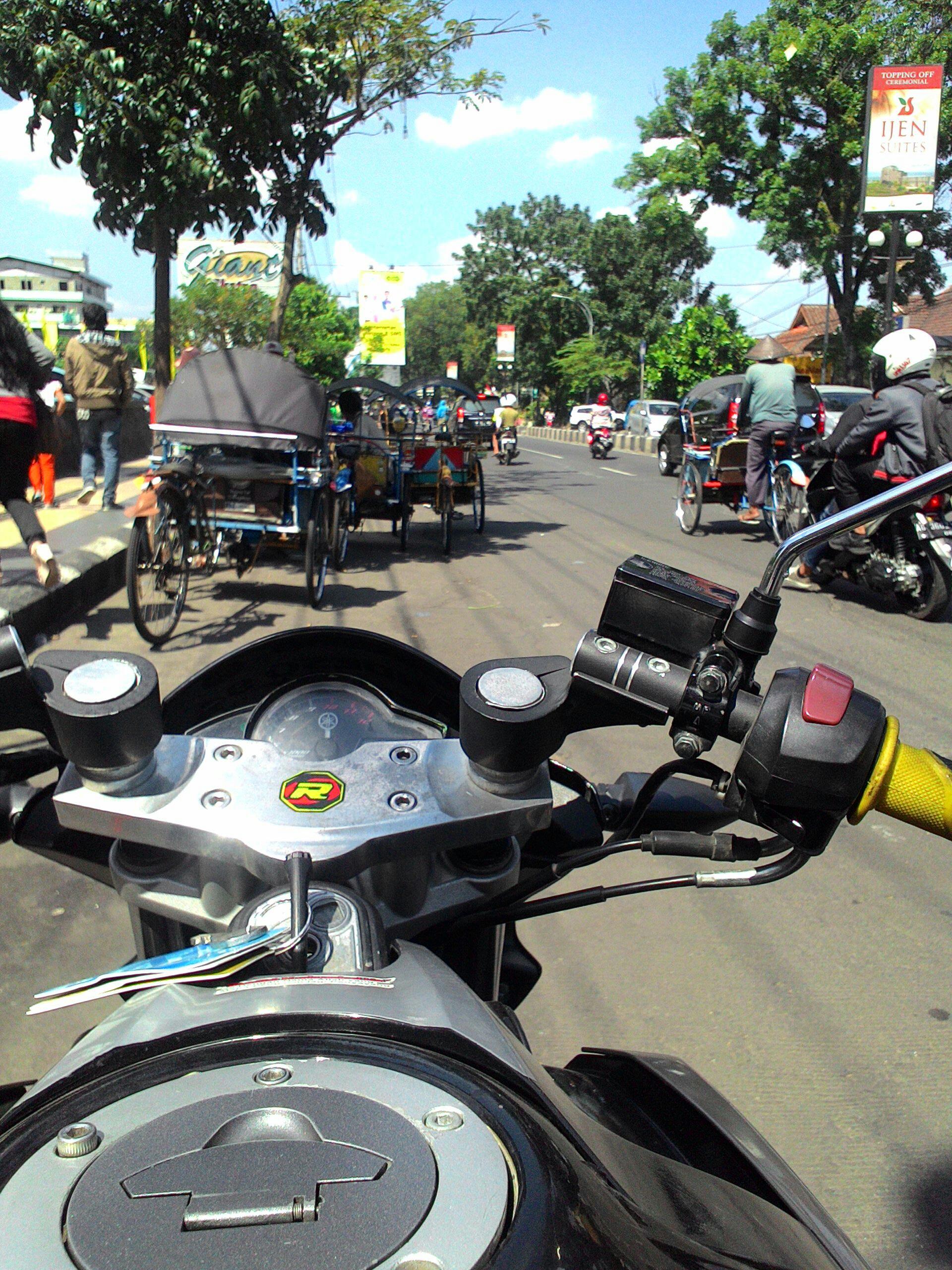 Review Riding NVL Dengan Stang Jepit Dan Segitiga Khusus Gak