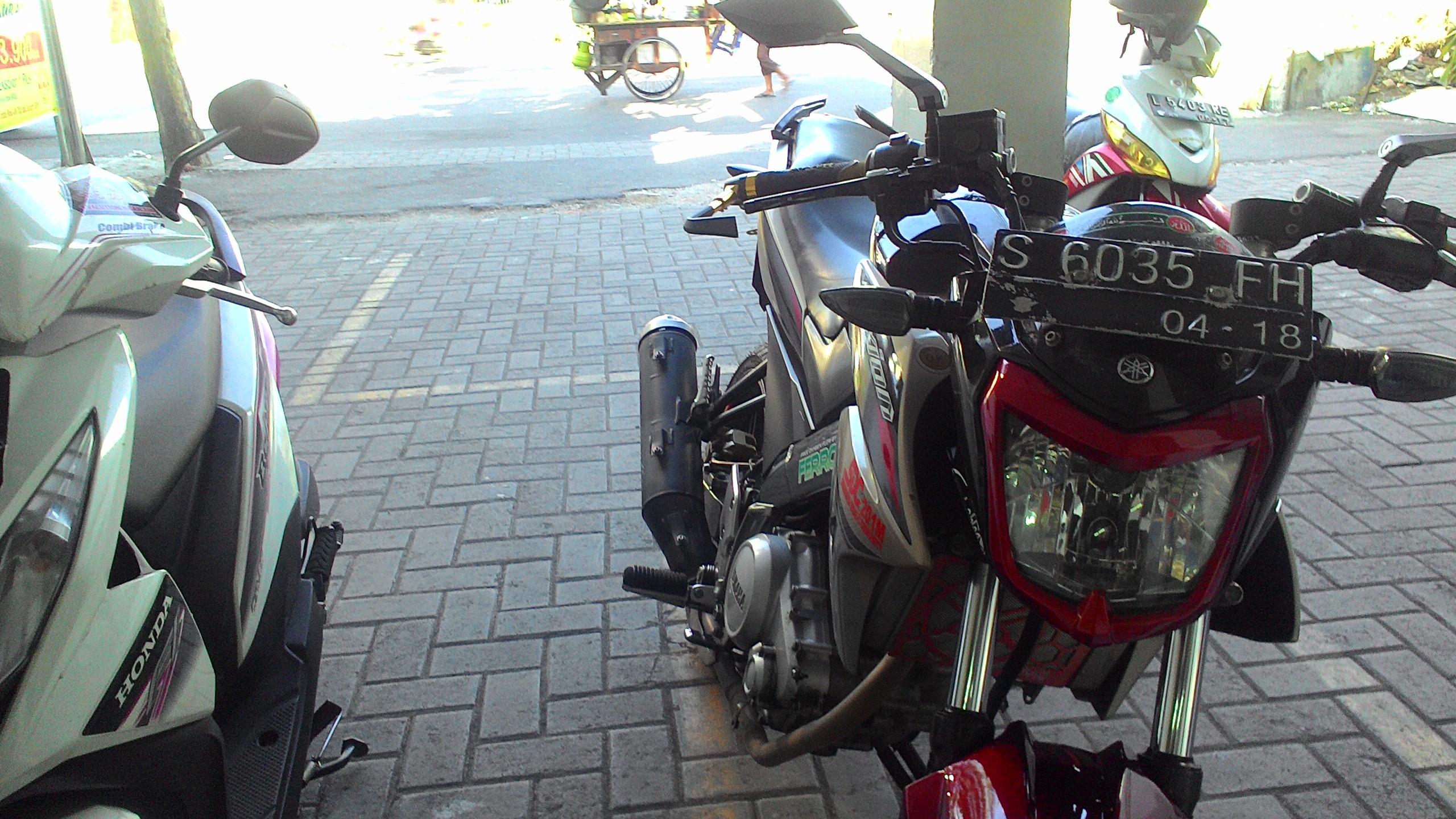Pasang Handguard Model MotoGP Di NVL Ndeso94 Dot Com