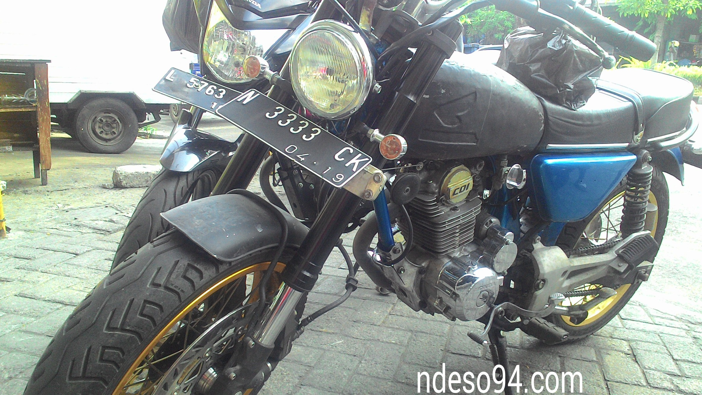 Tiger Japstyle Kaki Kaki USD Dan Double Disc Brake Kekar