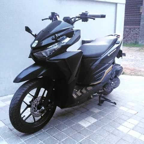 Vario 150 Modifikasi Trondol Minimalis Visor Motor Sport Rider