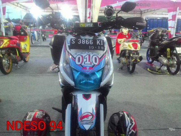 Honda Beat Modif Touring on honda beat modifikasi warna motor, honda beat modified, honda beat off-road, honda beat modification, honda beat race, honda beat pop,