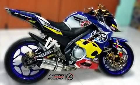 Yamaha New Vixion Half Fairing Livery Estrella Keren Juga Nih Rider Ndeso94 Dot Com