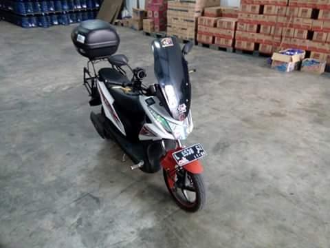 Modifikasi Honda Beat Pakai Visor Nmax Variasi Hmmm Radak Aneh