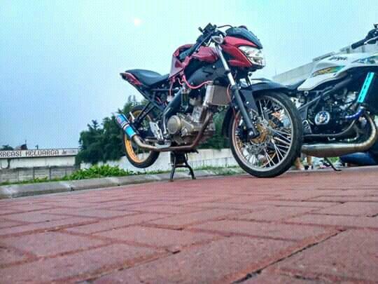 All New Vixion Pakai Velg Jari Jari Dan Stang Jepit Rider