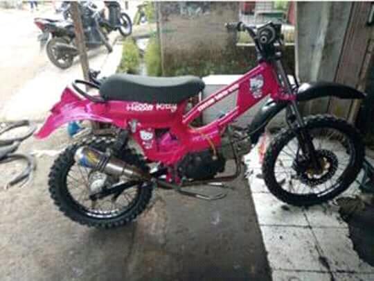 Kumpulan Honda C70 Modifikasi Trail Rider Ndeso94 Dot Com